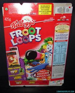 Fruit Loop Box Lion King Card Pop Up Promotion